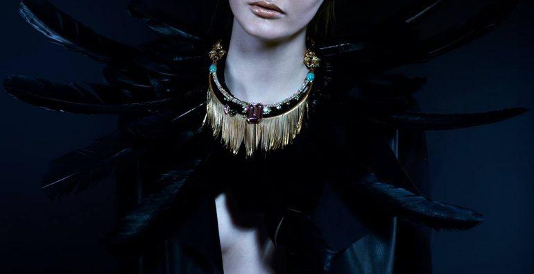 MILTON-FIRENZE fringe necklace Photo Credit Irina Lis Costanzo for IQBEAUTE